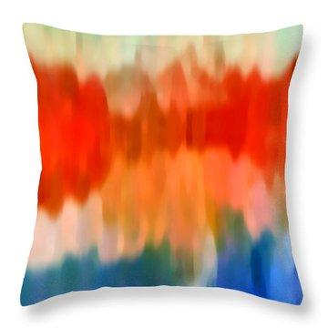 Watercolor 2 Throw Pillow by Amy Vangsgard