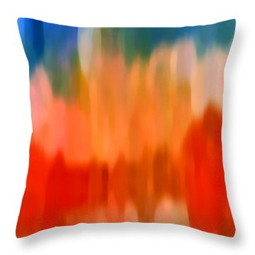 Watercolor 3 Throw Pillow by Amy Vangsgard