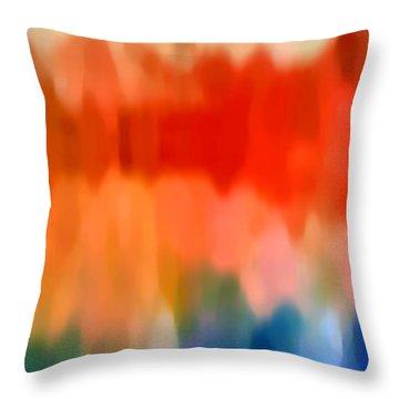 Watercolor 5 Throw Pillow by Amy Vangsgard