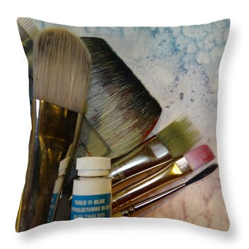 Tools Of The Trade Throw Pillow
