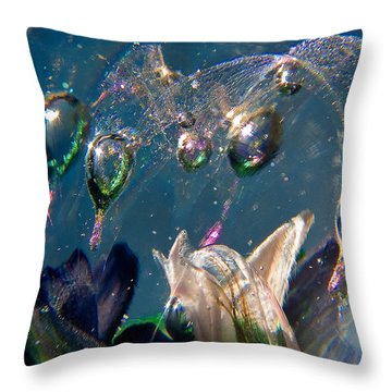 Watercolors Throw Pillow