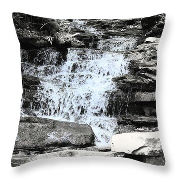 Waterfall 3 Throw Pillow