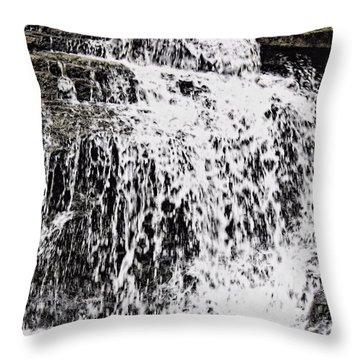 Waterfall 4 Throw Pillow