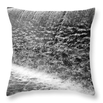 Throw Pillow featuring the photograph Waterfall At Cityhall by Dorin Adrian Berbier