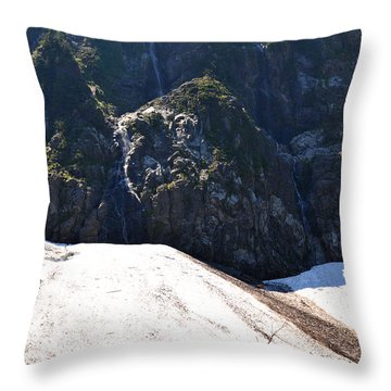 Throw Pillow featuring the photograph Waterfalls Lake 22 by Rebecca Parker