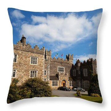 Waterford Castle , County Waterford Throw Pillow