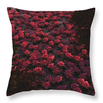 Waterlilies 2 Throw Pillow