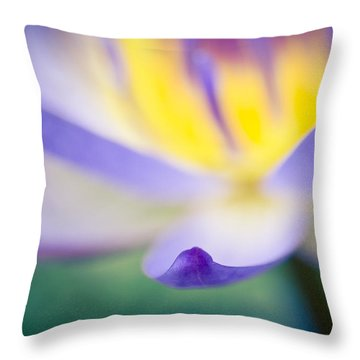Waterlily Dreams 6 Throw Pillow