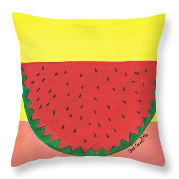 Watermelon 1 Throw Pillow