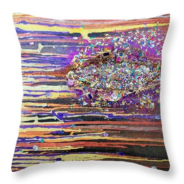 Waternymphs Throw Pillow