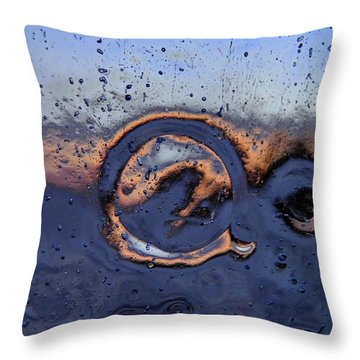 Waterpowered Throw Pillow by Sami Tiainen