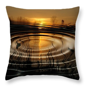 Watersun Throw Pillow