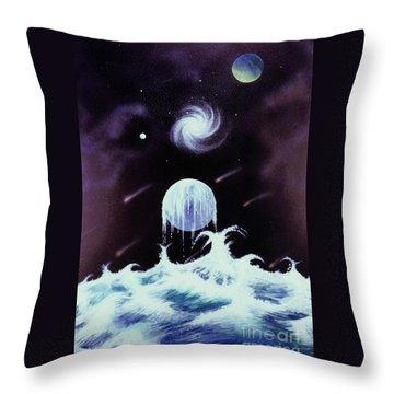 Waterworld II Throw Pillow