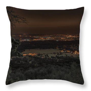 Wausau From On High Throw Pillow