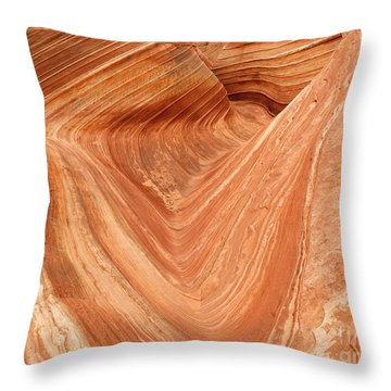 Wave - 12 Throw Pillow