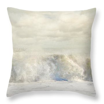 Wave 10 Throw Pillow