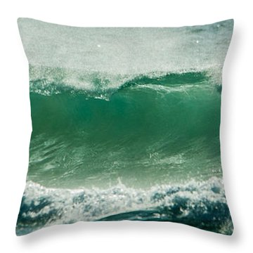 Wave 24 Throw Pillow