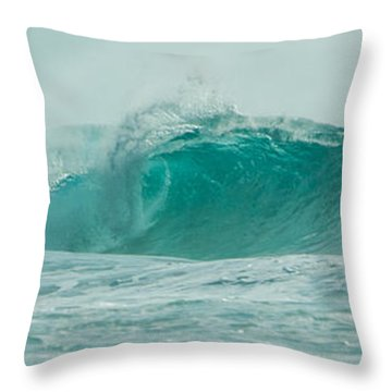Wave 7 Throw Pillow