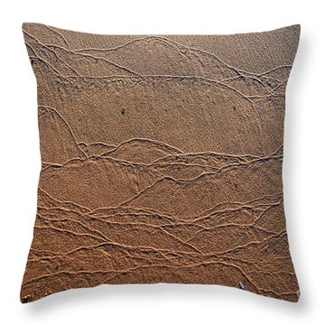 Wave Art Throw Pillow