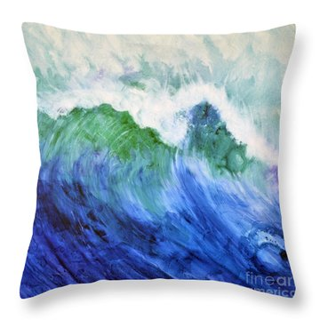 Wave Dream Throw Pillow