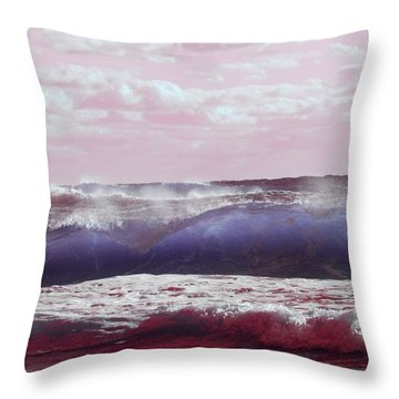 Wave Formation 2 Throw Pillow