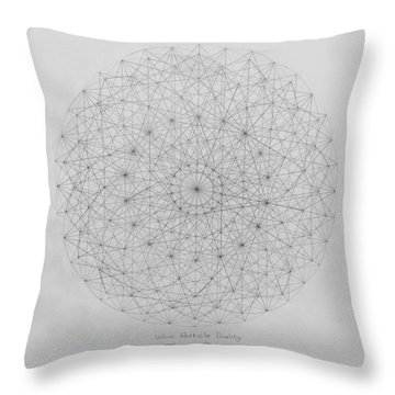 Wave Particle Duality Original Throw Pillow