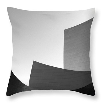 Wave Throw Pillow by Yue Wang