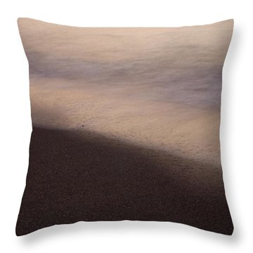 Throw Pillow featuring the photograph Waves by Bradley R Youngberg