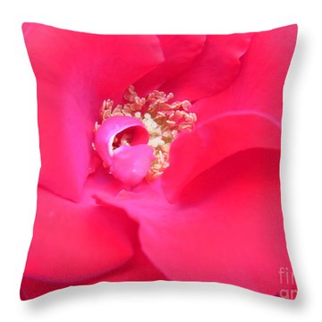 Waves Of Passion Throw Pillow