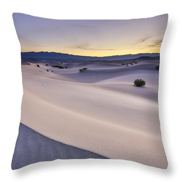 Waves Of Sound Throw Pillow by Jon Glaser
