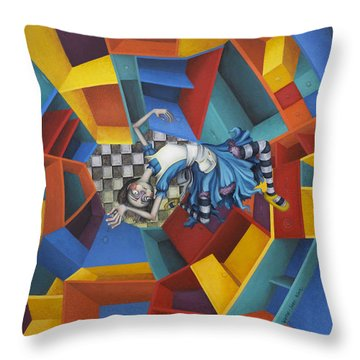 Pinafores Throw Pillows