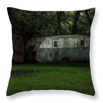 Wayback Machine Throw Pillow