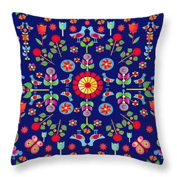 Wayuu Tapestry Throw Pillow