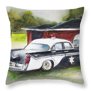 Car 54 Where Are You? Throw Pillow
