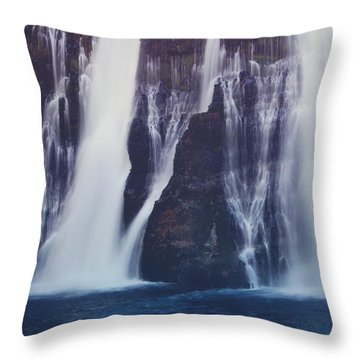 We All Fall Down Sometimes Throw Pillow by Laurie Search