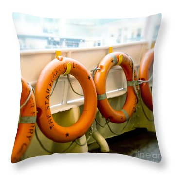 We Are Closely Knitted Together..... Throw Pillow by Ivy Ho