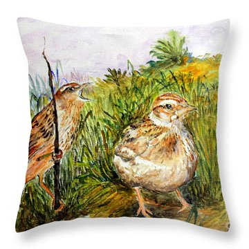 We Are Lost  Throw Pillow