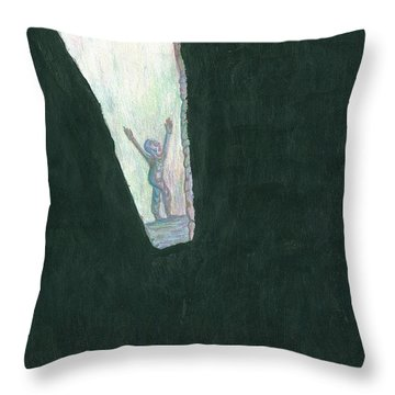 We Are Not Omnipotent Throw Pillow by Giuseppe Epifani