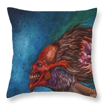 We Breed Monsters Throw Pillow