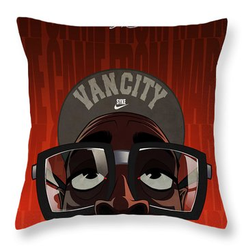 We Came From Mars Throw Pillow by Nelson Dedos  Garcia