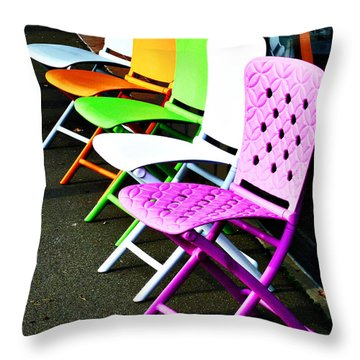 We Don't Do Ordinary  Throw Pillow by Steve Taylor