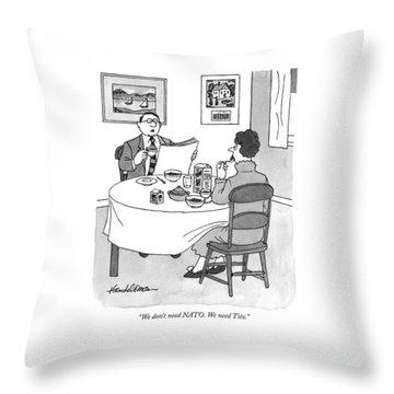 Treaty Throw Pillows