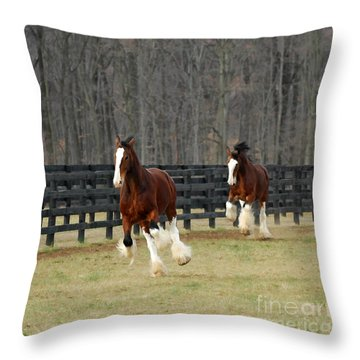 We Feel Like Dancing Throw Pillow