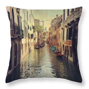 We Walked For Hours Throw Pillow by Laurie Search