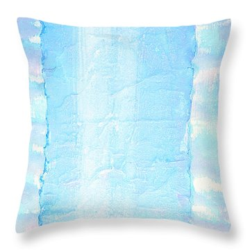 Throw Pillow featuring the painting We Will Take To Sky by Asha Carolyn Young