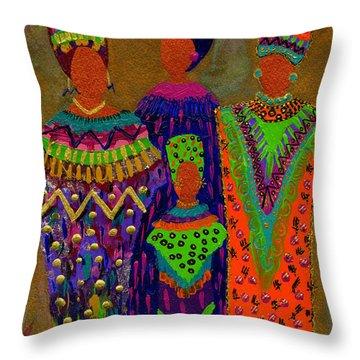 We Women 4 Throw Pillow