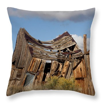 Weather And Time Throw Pillow by Art Block Collections