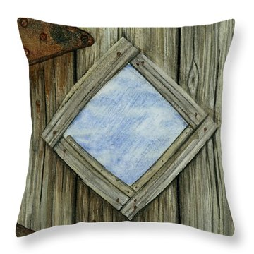 Weathered #2 Throw Pillow
