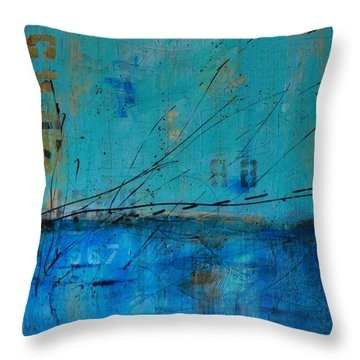 Weathered #5 Throw Pillow