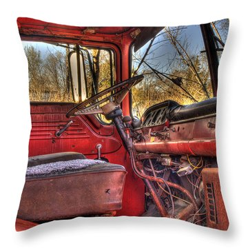Weathered And Worn  Throw Pillow by Thomas Young
